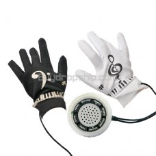 Electronic Piano Gloves - Musical Fingertips