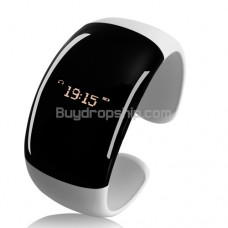Call-Distance Vibration Bluetooth Bracelet - Time Display