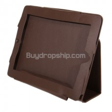 Folder Leather Sleeve Case Cover Stand for iPad iPad 2
