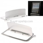 New Non-charging Stand Base for iPad - Silver Color