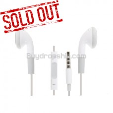 New Elegant Earphones with Remote and Mic for iPhone iPod