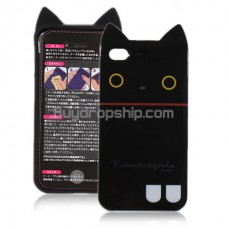 San-X Boots Kutusita Nyanko TPU Case Cover for iPhone 4 4G