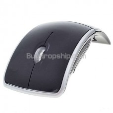 Cool Wireless 2.4GHz 1600dpi Folding Optical Mouse