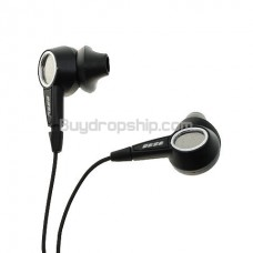 Audio and Comfortable In-ear Headphones - Black Color