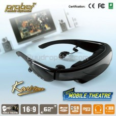62 inch Wide Screen Monitor Eyewear Mobile Theatre 2GB