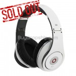 Folding Design Studio Headphones for iPhone iPad - White