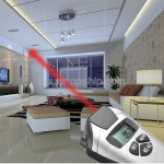 New Sonic Distance Meter with Laser Pointer CP-3009