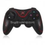 New Wireless Bluetooth Sixaxis Handle Controller for PS3 RED