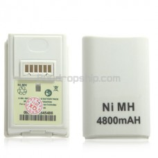 4800mAh Rechargeable Battery for Xbox 360 Controller
