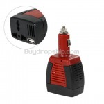 12V DC to 220V-110V AC 75W Power Inverter - Car Accessories