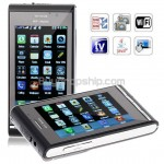 WG5 2-Sim Quad Band WIFI JAVA TV FM Touch Screen Cell Phone