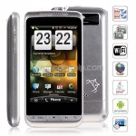 3.6inch Wifi GPS JAVA 2-Sim Android 2.2 Smart Phone - Silver