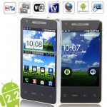 T9188 WCDMA Android 2.2 Wifi GPS TV 3G Smart Phone - Silver