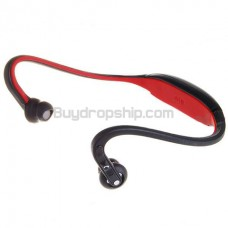 Stylish Bluetooth Stereo Handsfree Headset - Black&Red
