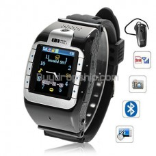 New N388 Quad Band Bluetooth Touch Screen Watch Phone
