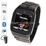 Quad Band Java Bluetooth Touch Screen Watch Phone TW810