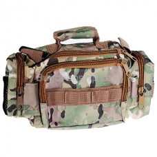 New Durable Multi-pocket Camera Bag - Light Camouflage