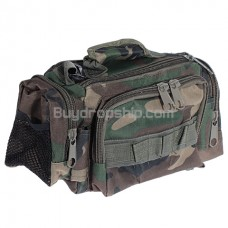 Durable High Quality Multi-pocket Camera Bag - Camouflage