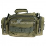 High Quality Durable Multi-pocket Camera Bag - Army Green