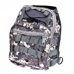 Hard-wearing Multi-pocket Small Saddle Bag Camouflage Color