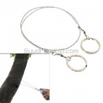 Useful Commando Wire Saw Survival Tool for Outdoors Camping