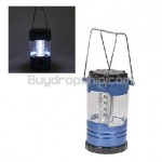 12-LED Leds Light Bivouac Camping Lantern Lamp with Compass