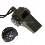3-in-1 Multi-function Thermometer - Compass - Whistle
