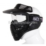 New SCOTT USA Paintball - Airsoft Full Face Protection Mask
