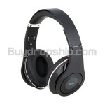 Folding Design Wireless Bluetooth Stereo EDR Headset - Bluetooth V2.1