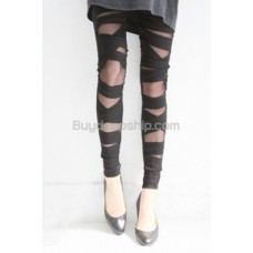 Lady Fashion Seductive Hollow Style Bloom Boomboom Leggings
