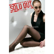 New Sexy Side Rhinestone Cat Decor Tights Pantyhose Leggings