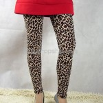 Stylish Leopard Pattern Bloom Boomboom Leggings Pantyhose