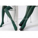 Ladies Sexy Dark Green Sheer Tights Stockings Pantyhose