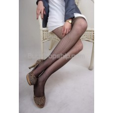 White Sexy Thin Fishnet Style Pantyhose Stockings