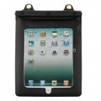 PU Leather Waterproof Case Pouch - Earphone Port For iPad