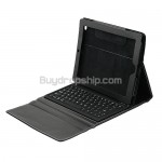 Full Grain Leather Case Bluetooth Keyboard For Apple iPad 2