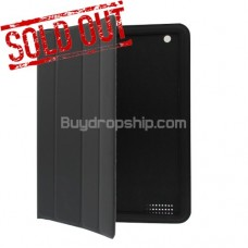 Pro Smart Cover Leather Book Stand Case For iPad 2 - Black