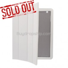 Pro Smart Cover Leather Book Stand Case For iPad 2 - Cream