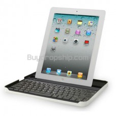 Portable Aluminum Bluetooth Keyboard Dock Base For iPad 2