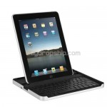 Portable Aluminum Case - Bluetooth Keyboard Dock For iPad 2