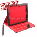 4400mAh Power Station - Leather Case for iPad 2