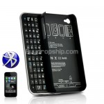 Bluetooth Sliding Keyboard - Hard Case for Apple iPhone 4