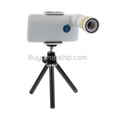 10x Optical Zoom Lens Telescope Camera - Tripod for iPhone 4