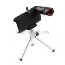 8X F1.1 Zoom Lens Telescope for iPhone 3G 3GS with Tripod