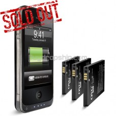 Battery Shell Backup Power Case For iPhone 4
