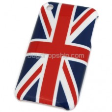 New Hard Case for Iphone 3G 3GS - UK Flag Style