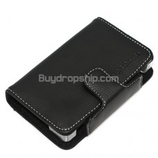 Stylish Soft Black leather Case for Nintendo DS Lite NDSL