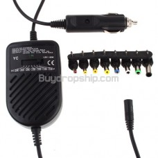 Auto DC Power Regulated Adaptor Car Charger for Notebook