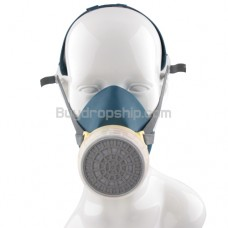 Chemical Gas Filter Resistance Respirator Mask Facepiece