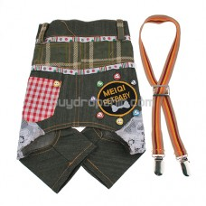 Cool Suspender Trousers Style Clothes for Pet Dog